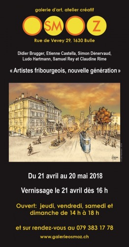 Image Exposition collective - Galerie Osmoz