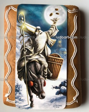 Image Illustration - Saint-Nicolas traditional Gingerbread