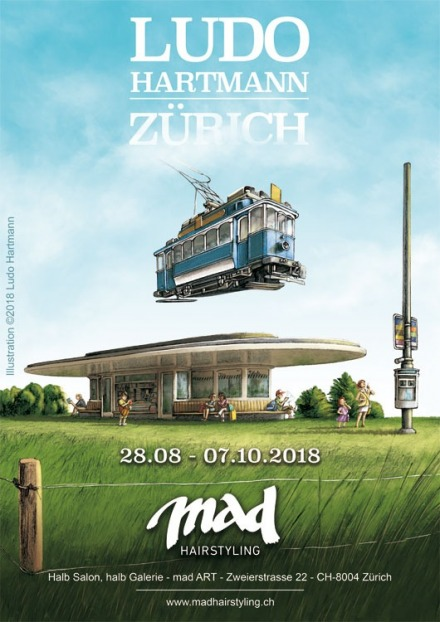 Image Exposition Mad Art - Zürich - 28.08-07.10.2018